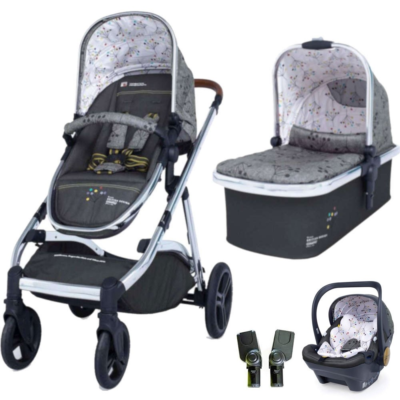 Cosatto Wow XL Dock Travel System - Hedgerow