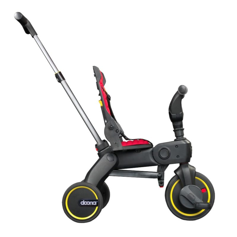 Doona Red Liki Foldable Trike is the world's most compact folding trike. The sleek urban design of the Liki Trike allows you to be safe and have fun