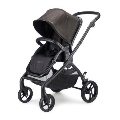 mee-go plumo black stroller 2 1000