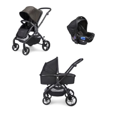 mee-go plumo black travel system