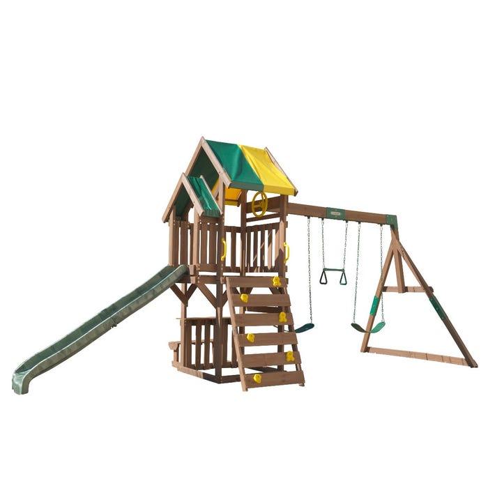 Arbor Crest: KidKraft Arbor Crest Deluxe Outdoor Play And Swing Set