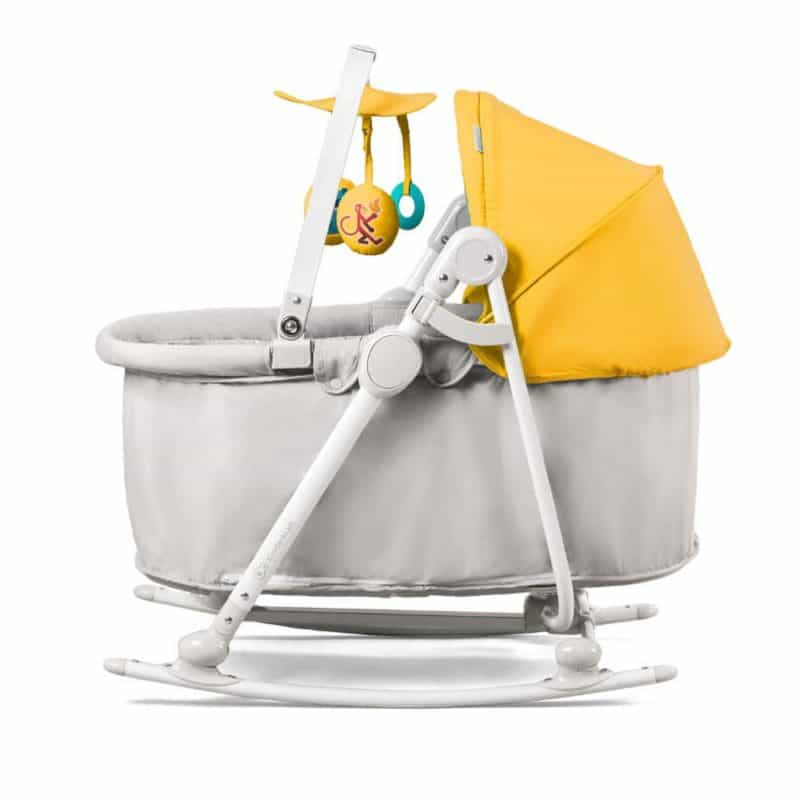 Kinderkraft Unimo 5 in 1 Cradle - Yellow 3
