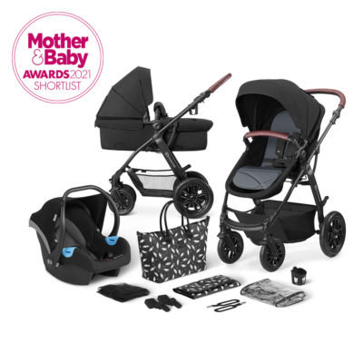 Kinderkraft XMoov Black Travel System