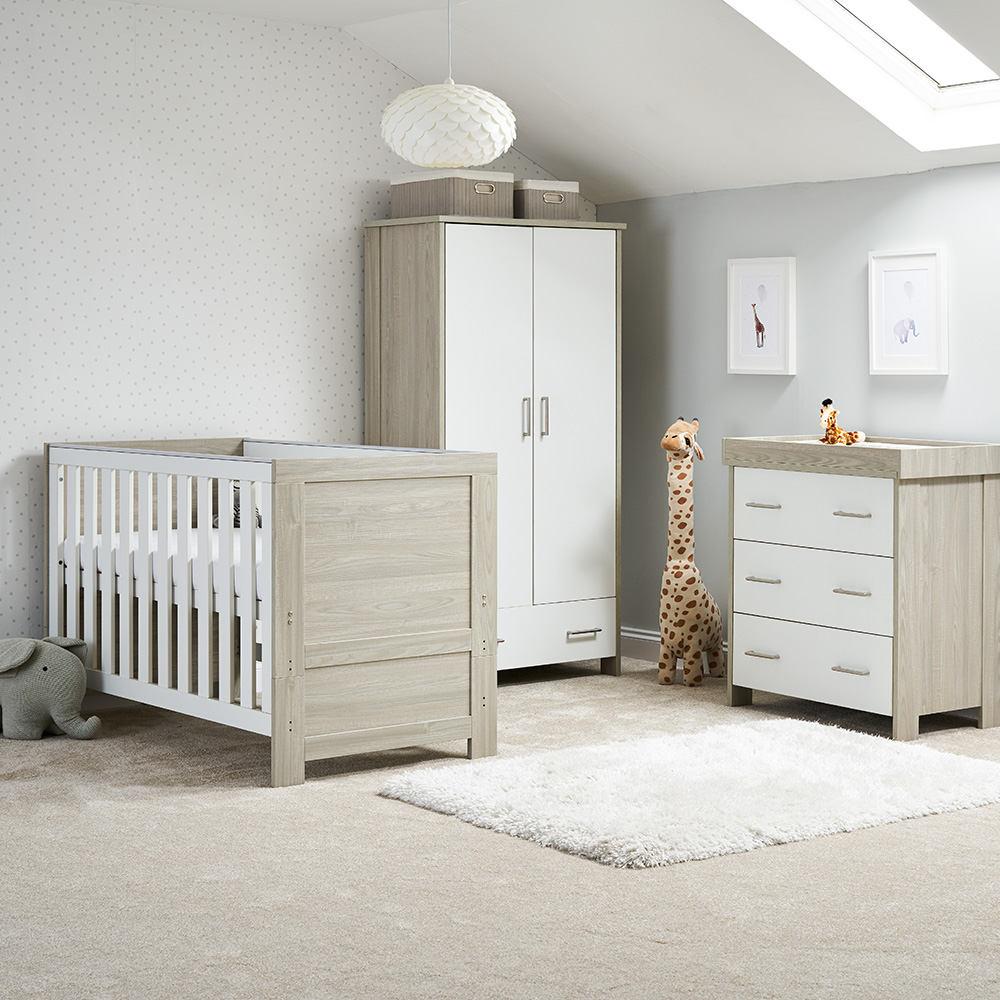 Obaby Nika 3 Piece Nursery Room Set