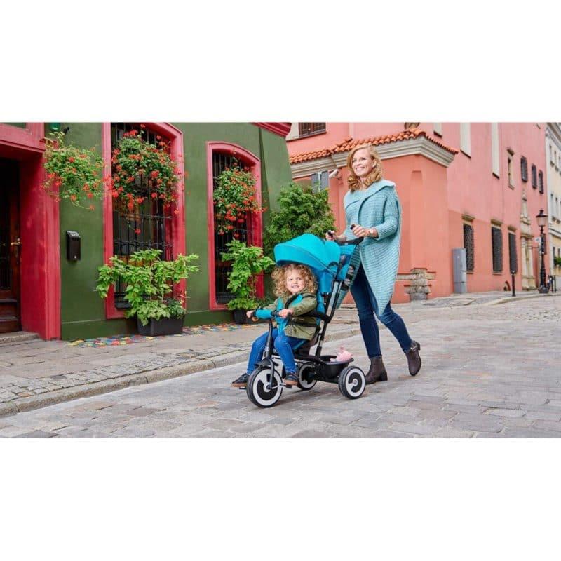 Kinderkraft Aston Trike - Turquoise 12