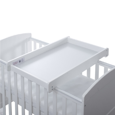 Ickle Bubba White Cot Top Changer