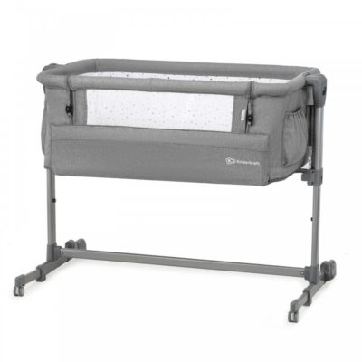 Kinderkraft Melange Grey Neste Up Bedside Crib