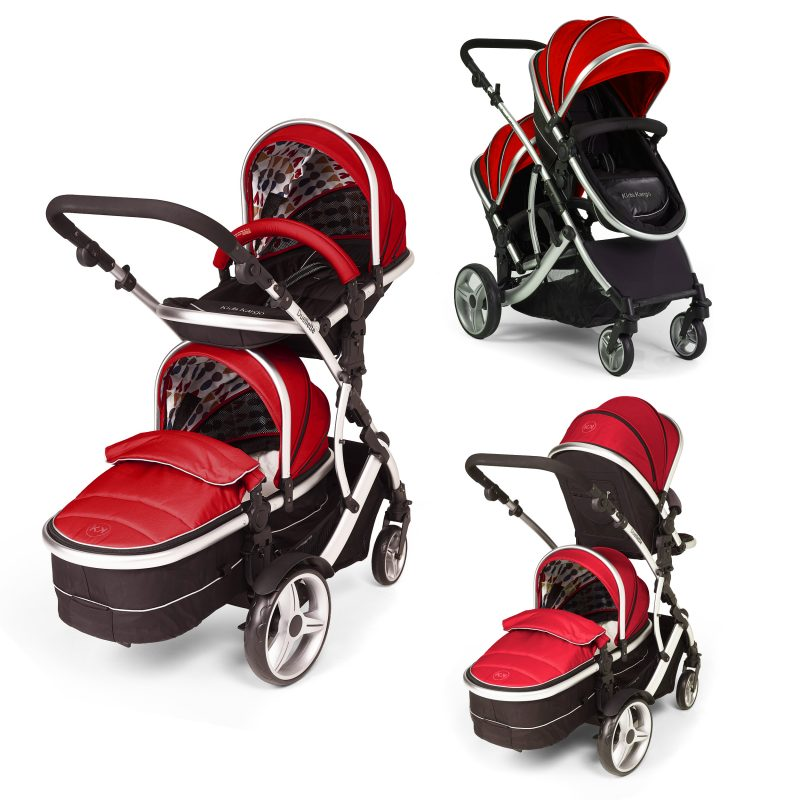 Red Kids Kargo Duellette Baby and Tot