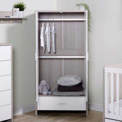 ickle-bubba-pembrey-wardrobe-open ash grey white