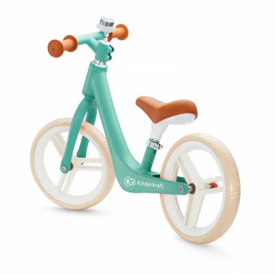 Kinderkraft Midnight Green FLY PLUS Balance bike
