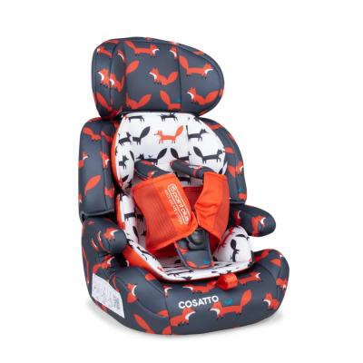 Cosatto Charcoal Mister Fox Zoomi Car Seat