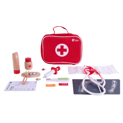 Classic World 19 Piece Red Doctor Set