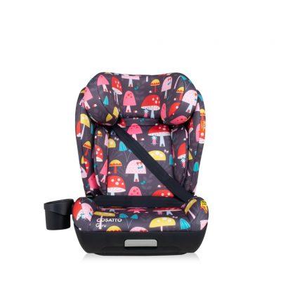 Cosatto RAC Guru i-Size Car Seat - Mushroom Magic Charcoal